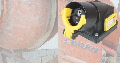 Schalter 230V für Aufbau auf dem Motorklemmkasten z.B. für Betonmischer