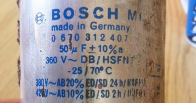 Bosch-Kondensator