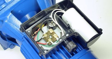 Pumpe mit Kondensator