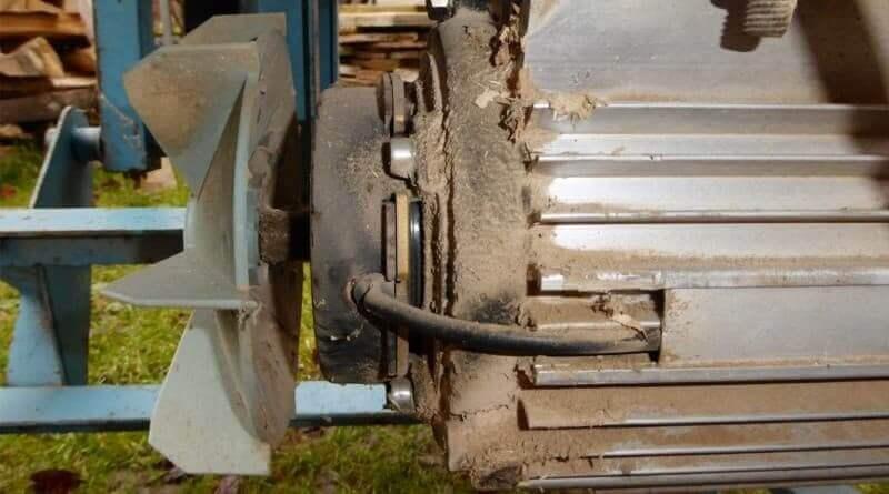 Schalter für Motoren mit Magnetbremse am Beispiel einer Scheppach Wippsäge KW7