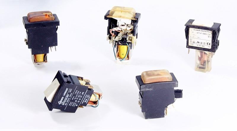 Weber Unimat Schalter