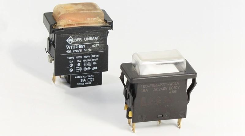 Weber Unimat WT22-551 und ETA