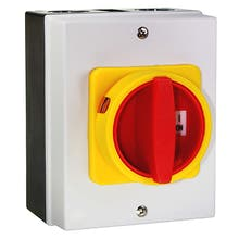 45000240  - Emergency shut-off-main switch up to 7,5 kW with housing (Kedu ZH-C4)