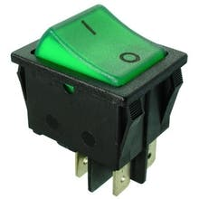 517  - Rocker switch, Off-switch, 2-pole