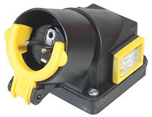 SSK340  - Switch-plug combination up to 3 kW, cement mixer switch
