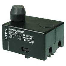 489  - Push-button switch, N/O contacts, 2-pole - Marquardt 1245.0301
