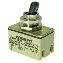 319  - Toggle switch, Off-switch, 2-pole - Marquardt 0145.1220