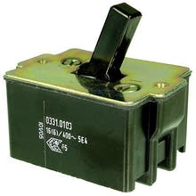 136S  - Toggle switch, Off-switch, 3-pole - Marquardt 0331.0103