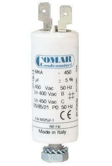 025450MKP/FL  - Operating capacitor 2,5 µF / 450 V with flat plug