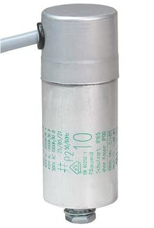 100400MBA  - Operating capacitor 10 µF / 450 V, aluminium can