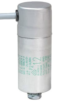 120400MBA  - Operating capacitor 12 µF / 450 V, aluminium can
