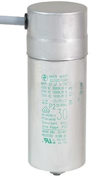 300400MBA  - Operating capacitor 30 µF / 450 V, aluminium can