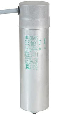 400400MBA  - Operating capacitor 40 µF / 450 V, aluminium can