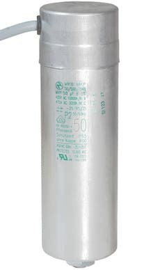 500400MBA  - Operating capacitor 50 µF / 450 V, aluminium can