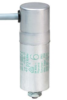 060400MBA  - Operating capacitor 6 µF / 450 V, aluminium can