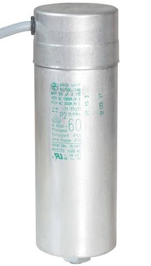 600400MBA  - Operating capacitor 60 µF / 450 V, aluminium can