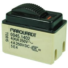 399  - Slide switch, Off-switch, 2-pole - Marquardt 0045.1402