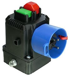 SSK510  - Switch-plug combination up to 3 kW with motor protection