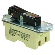 634  - Rocker switch, N/O contacts, 2-pole - Marquardt 1251.0101