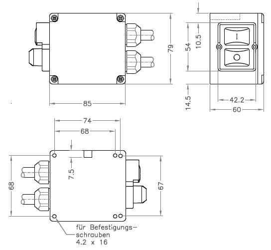 Motor Switch Klinger U0026born K570  Nka12  Ka12  Replacement For Kedu Koa8