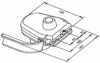 tripus schalter f r rasenm her und vertikutierer mit motorschutz. Black Bedroom Furniture Sets. Home Design Ideas