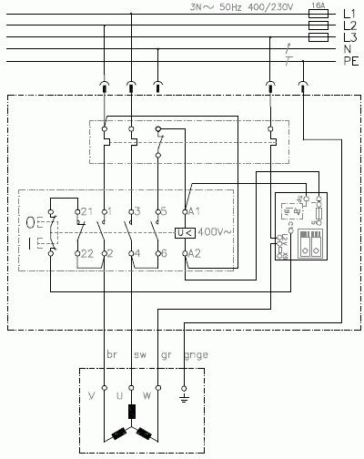 Klinger&Born K900/VB/ST9, Switch-plug combination with brake